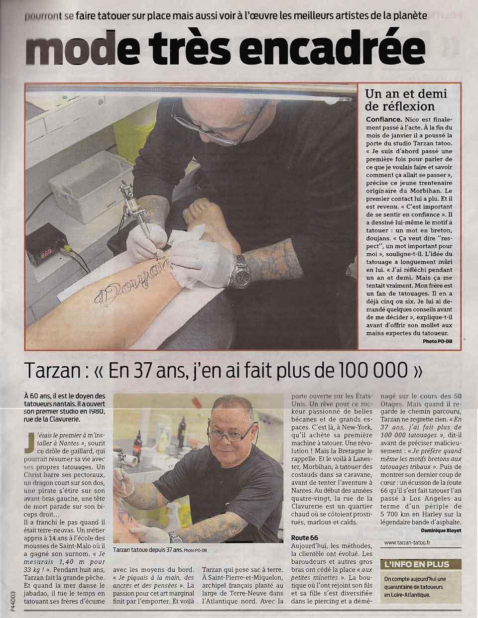 presse océan tatouage