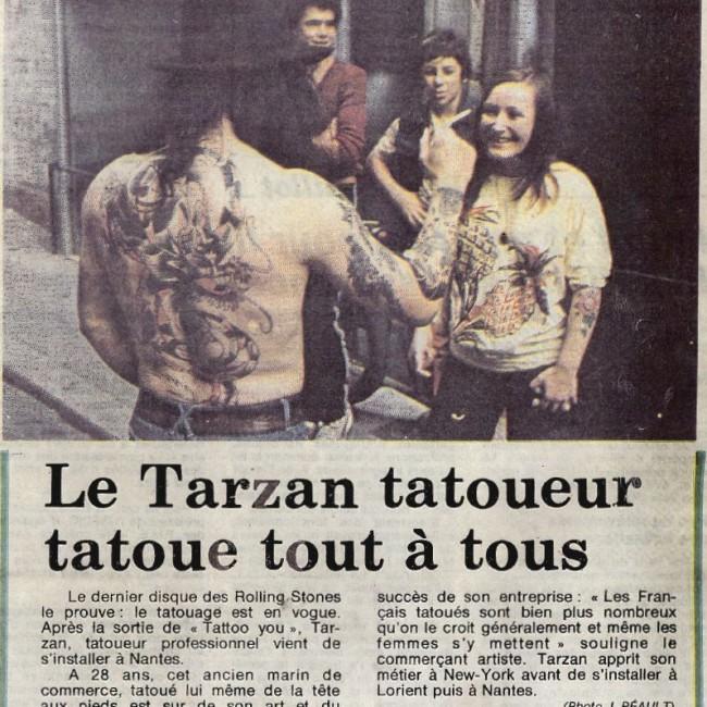 le tarzan tatoueur