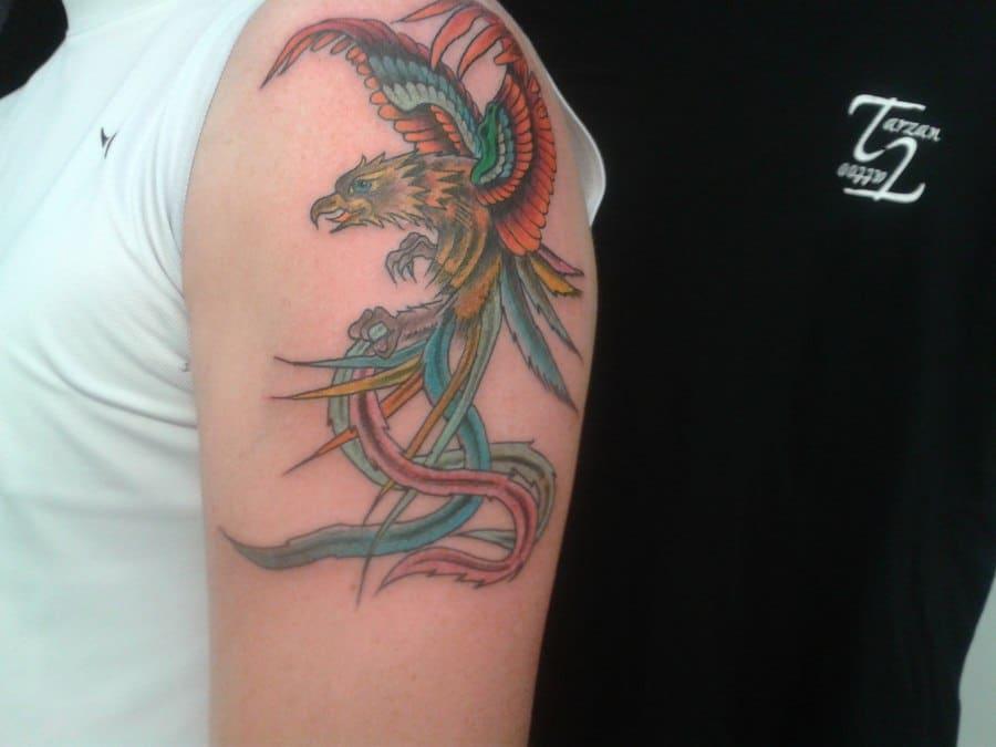 Oiseau Paradis Tattoos