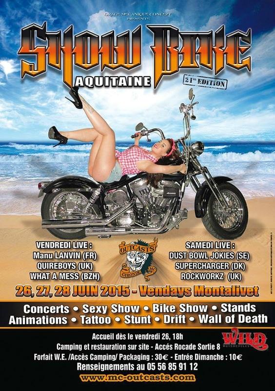 21ème édition du Show Bike de Montalivet