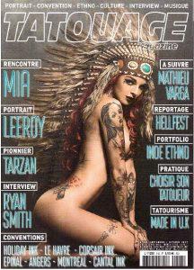 Tarzan sur tatouage-magazine