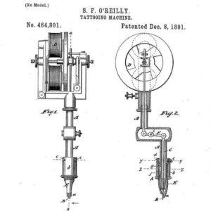 machine à tatouer électrique